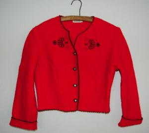 Boiled Wool bolero jacket www.zarawestsuspense.com