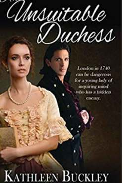 Kathleen Buckley shares her new Regency romance An Unsuitable Duchess with Zara West