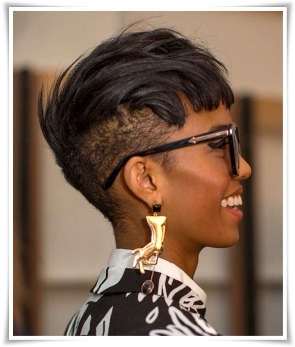 Short Natural Afro Hairstyles For Women