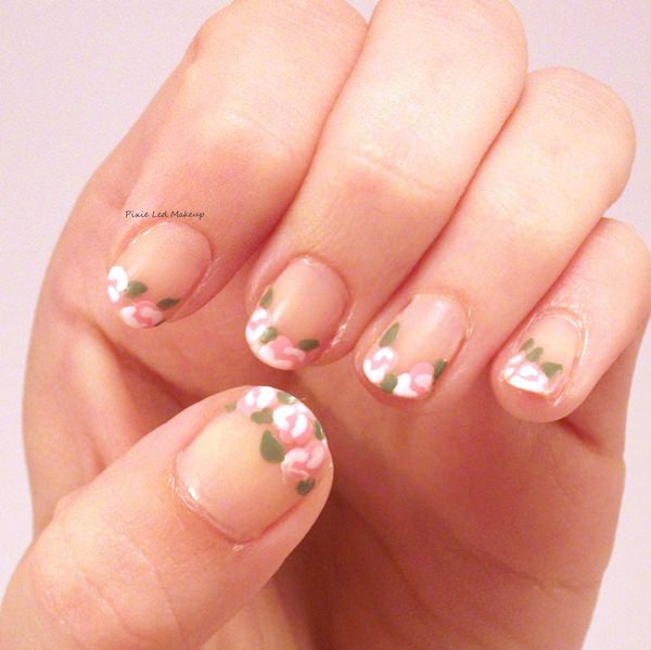 Flowers Are A Por Choice When It Es To Nail Art Here We Re Dealing With More Abstract Design Which Looks Pretty Glam In Our Humble Opinion