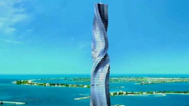 بناء دوار دبي