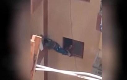 طفل البلكونة يشغل الرأي العام  في مصر وموقف الأم المسؤولة بعد إطلاق سراحها، فيديو
