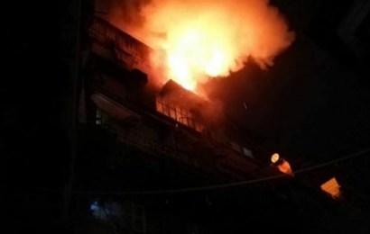 حريق هائل بأحد المنازل في دمشق يودي بحياة سبعة أطفال من عائلة واحدة