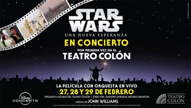 Resultado de imagen para Disney y el Teatro Colón presentan Star Wars Experience