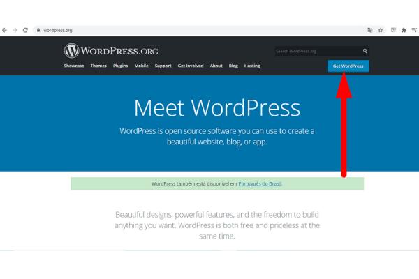 Como Fazer Download dos Arquivos do WordPress