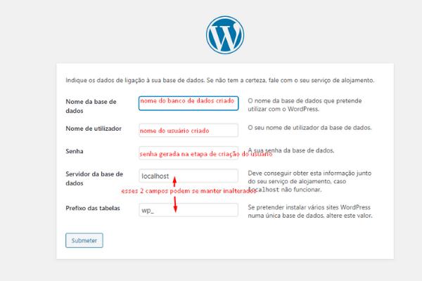 acessando o wordpress instalado 2