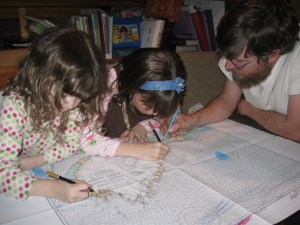Nautical Chart Coloring