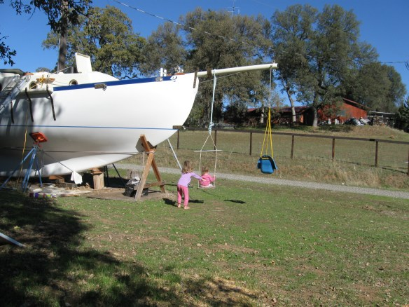 home built bowsprit