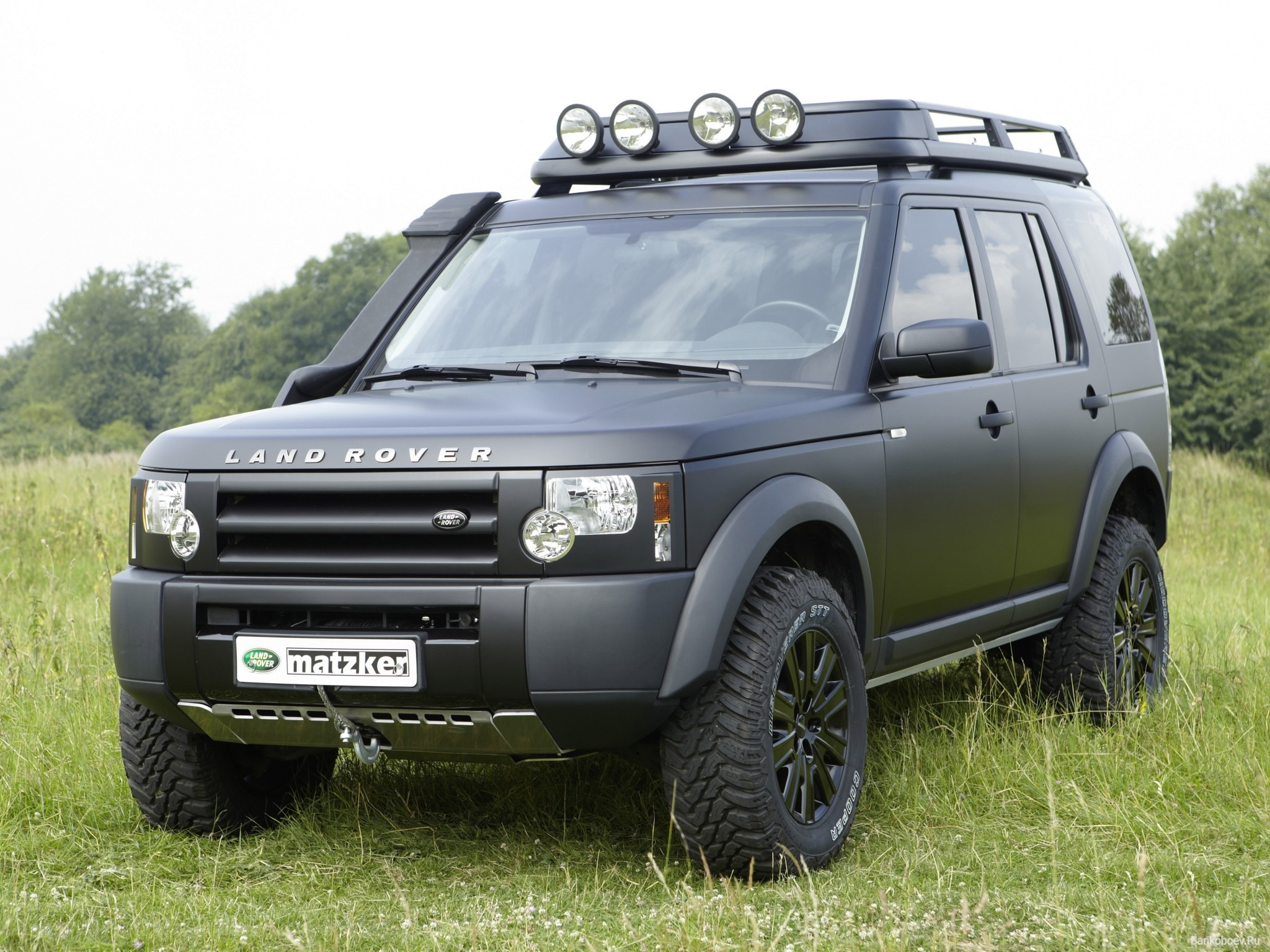 Bullet Proof Armoured Land Rover LR4 SUV from International