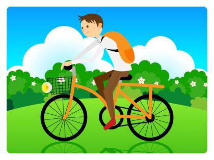 自転車 ちゃりんこ