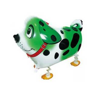 Ballonhund Ballonfigur Hund grün