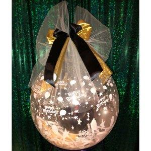 Hochzeitsballon Geldgeschenk edel