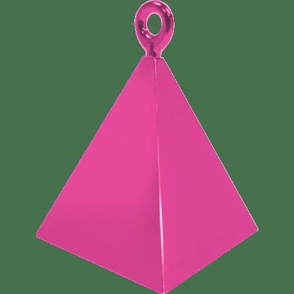 Ballongewicht Pyramide Magenta 110g