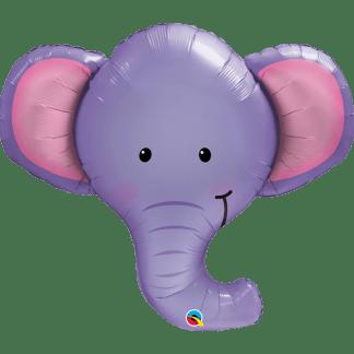 Folienballon Elefant Zoo Ballon Qualatex