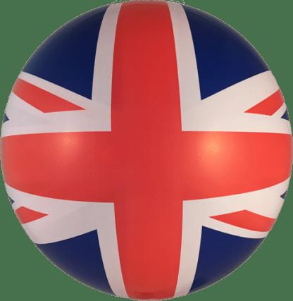 Ballon Kugel England Flagge Bubble