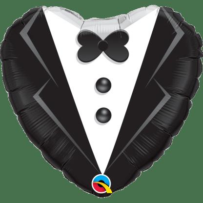 Ballon Folienballon Hochzeit Mr. Bräutigam Anzug