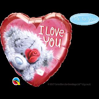 Folienballon Ballon Love Liebe Herz rot