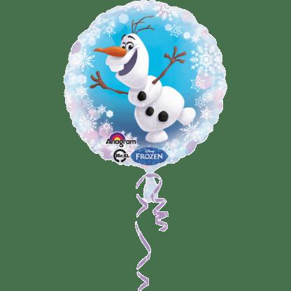 Frozen 2 Olaf Eiskoeniging Folienballon Ballon heliumballon Saarland Rheinland Pfalz 1
