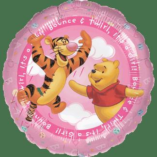 Geburt Mädchen Tigger Winnie Pooh Pink