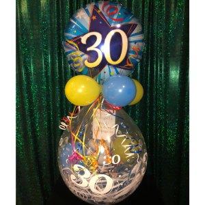 Geburtstagsballon Geldgeschenk