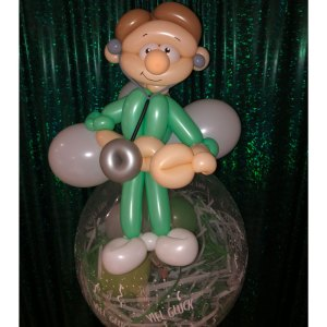 Geburtstagsballon Krankenpfleger