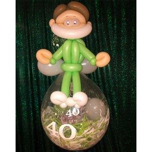 Geburtstagsballon Arzt Doktor