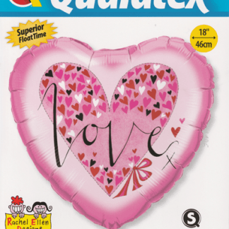 Folienballon Love Liebe Ballon Heliumballon Qualatex