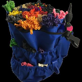 Ballontasche Modellierballons Professional Aufbewahrung Tasche Blau