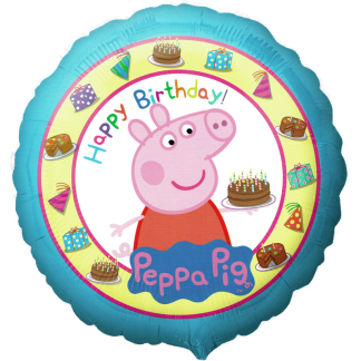 Folienballon Peppa Pig Happy Birthday