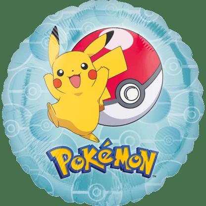 Folienballon Pokemon Go Picachu und Pokeball
