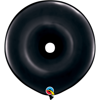 Qualatex Geo Donut Black