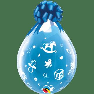 Qualatex Verpackungsballon Geburt Kinder Motiven