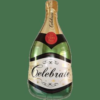 Ballon Sekt / Champagner Flasche