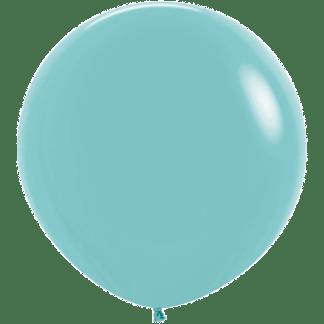 Sempertex Rundballon 90 cm Aquamarin