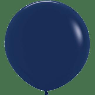 Sempertex Ballon 90 cm Navy Blau