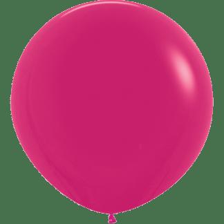 Sempertex Rundballon 90 cm Raspberry