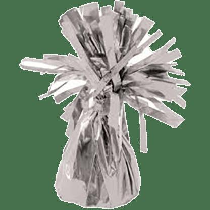 Heliumballons Ballongewicht Folie Silber