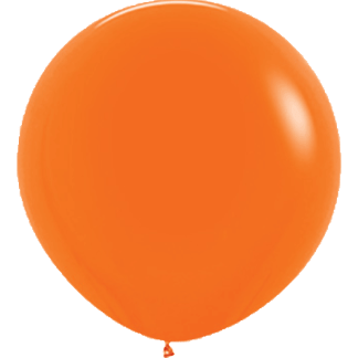 Sempertex Europe Rundballon Orange 36 Inch