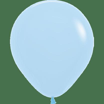 Sempertex Ballons Pastell Matte Blue