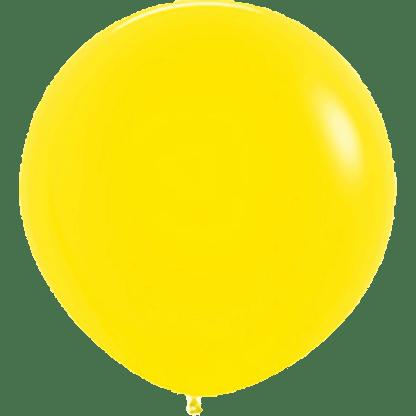 Sempertex Europe Rundballon Yellow 36 Inch