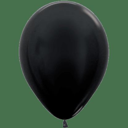 Sempertex Ballons Metallic Black