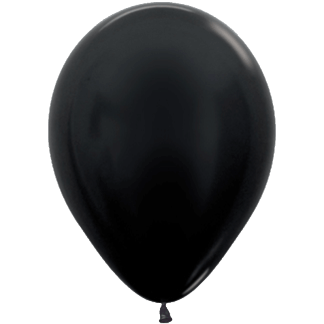 Sempertex Ballons Metallic Black