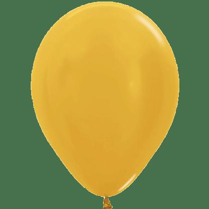 Sempertex Ballons Metallic Gold