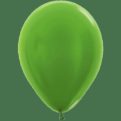 Sempertex Ballons Metallic Lime Green
