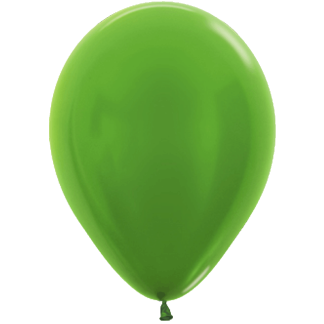 Sempertex Ballons Metallic Lime Green