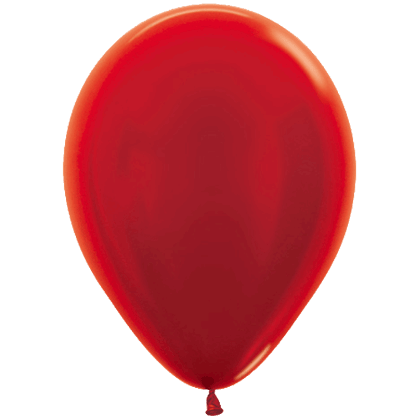 Sempertex Ballons Metallic Red