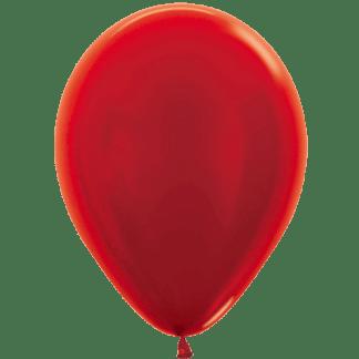 Sempertex Ballons Metallic Red
