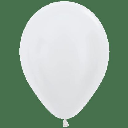 Sempertex Ballons Pearl White