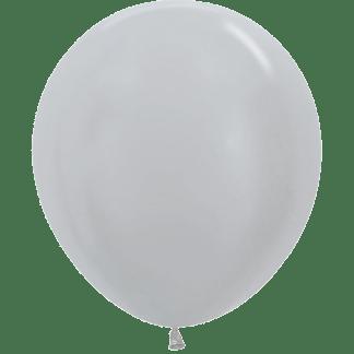 Sempertex Ballons Silber 45 cm