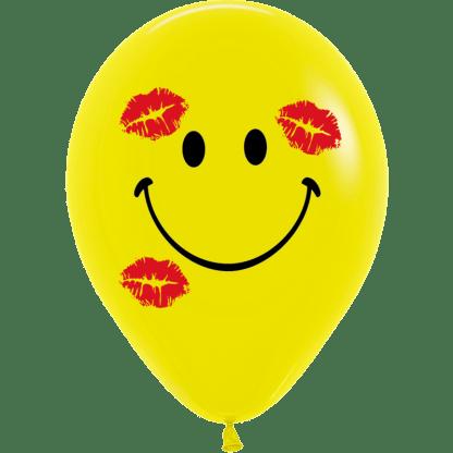 Sempertex Smiley Gesicht Küsse